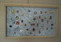 Schaukasten für  Pin, Orden Format 70cm x 50cm