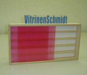 VitrinenSchmidt® 25SN Sammler Vitrine 100cm Spur N genutet 5 Stellebenen